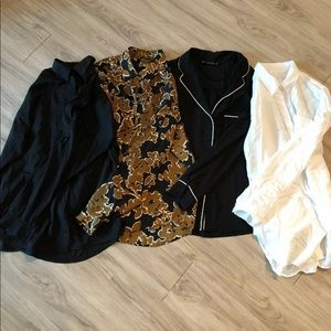 Zara/Aritzia Button Up Shirts $8 Each